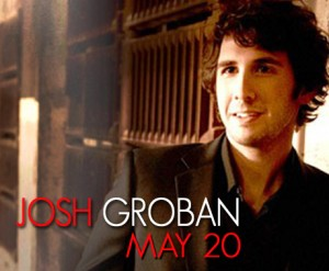 Josh Groban May 20, 2011 BOK Center